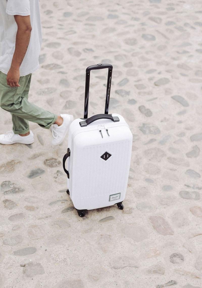 Herschel Supply — cestovní kufr na kolečkách, bílý — lookbook – jaro 2016