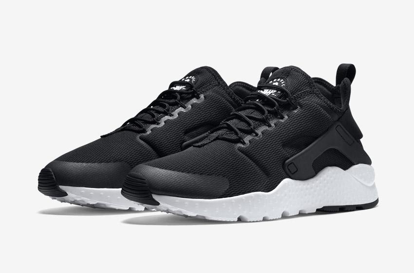 Nike Air Huarache Ultra — černé dámské boty, běžecké sneakers, tenisky