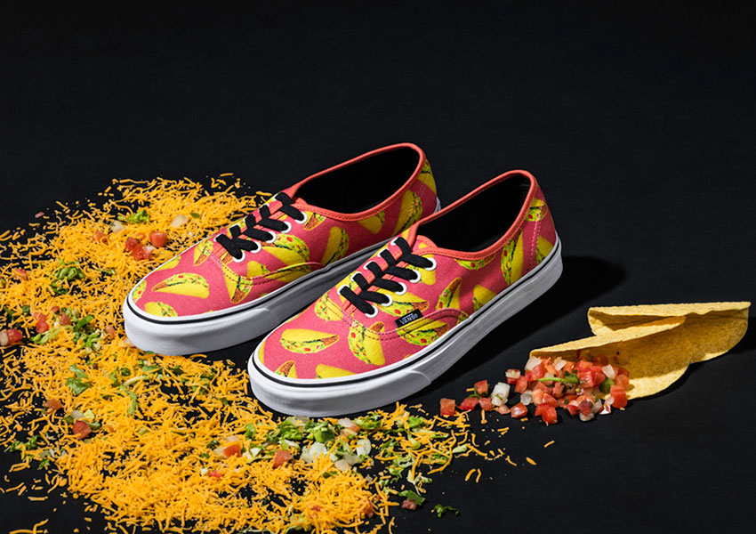 Vans Late Night Pack — boty Authentic — Coral/Tacos — růžové
