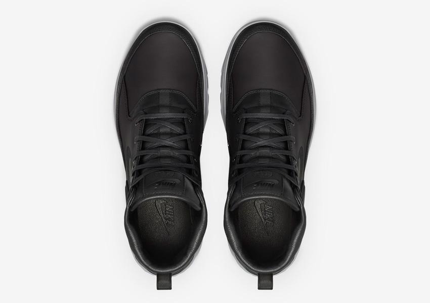 NikeLab x Stone Island Koth Ultra Mid — pánské sportovní boty — horní pohled
