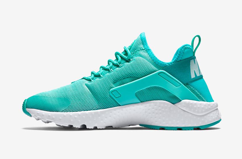 Nike Air Huarache Ultra — dámské tenisky, běžecké boty, sneakers — zelené
