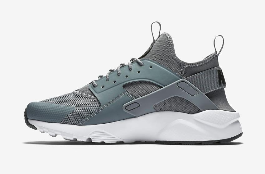 Nike Air Huarache Ultra — pánské boty, sneakers, běžecké — šedé