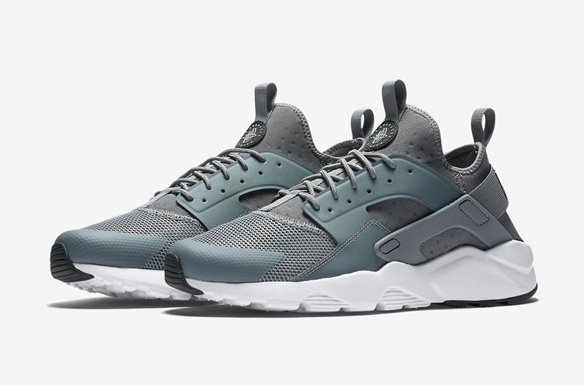 Nike Air Huarache Ultra — šedé pánské boty, běžecké sneakers, tenisky