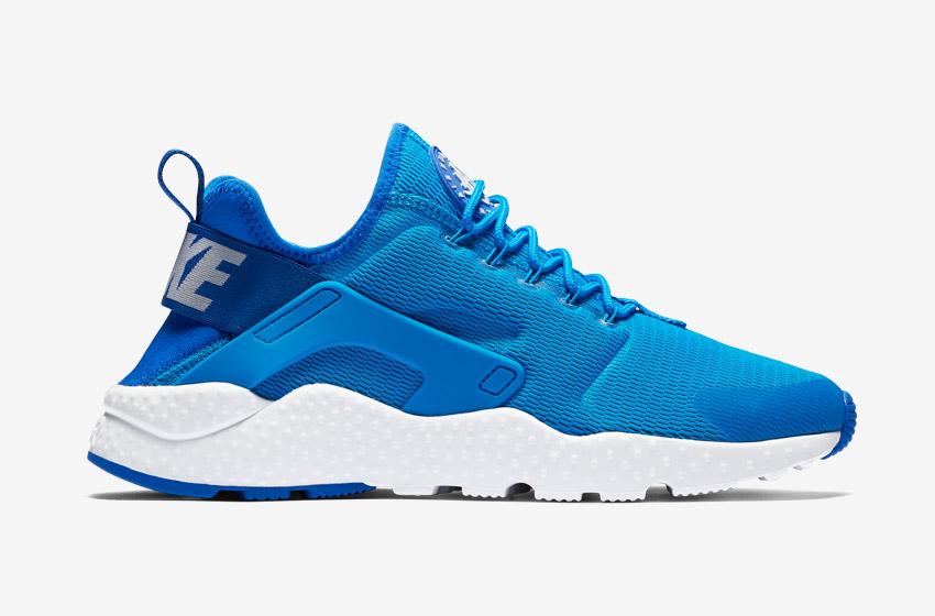 Nike Air Huarache Ultra — dámské boty, sneakers, běžecké — modré