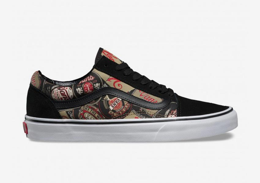 Vans Late Night Pack — Old Skool — Black/Gold — černé