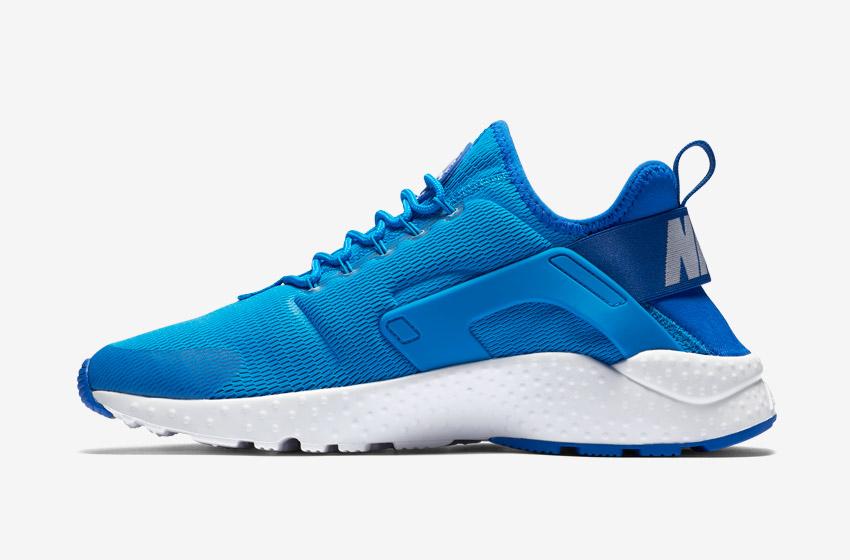 Nike Air Huarache Ultra — dámské tenisky, běžecké boty, sneakers — modré