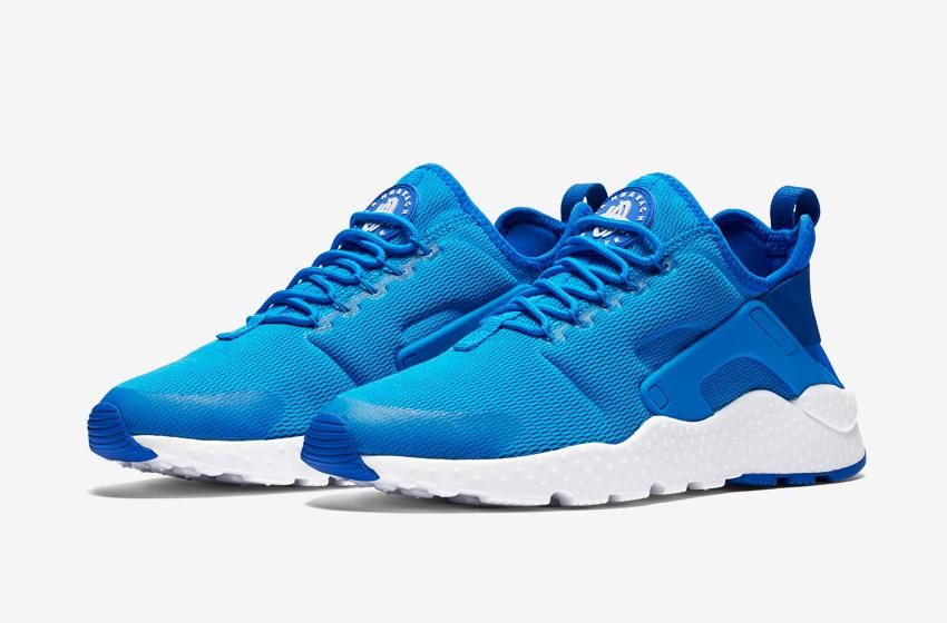 Nike Air Huarache Ultra — modré dámské boty, běžecké sneakers, tenisky