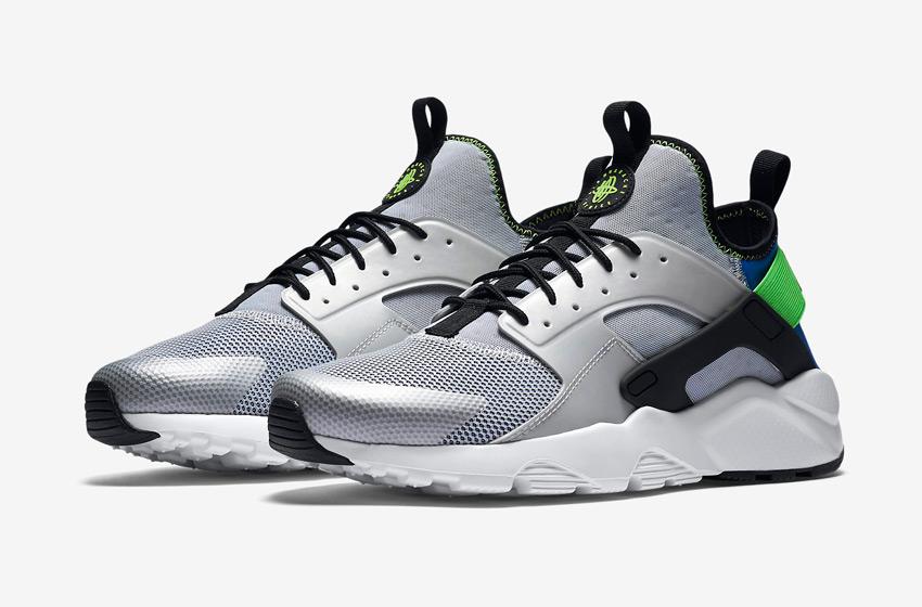 Nike Air Huarache Ultra — černé pánské boty, běžecké sneakers, tenisky