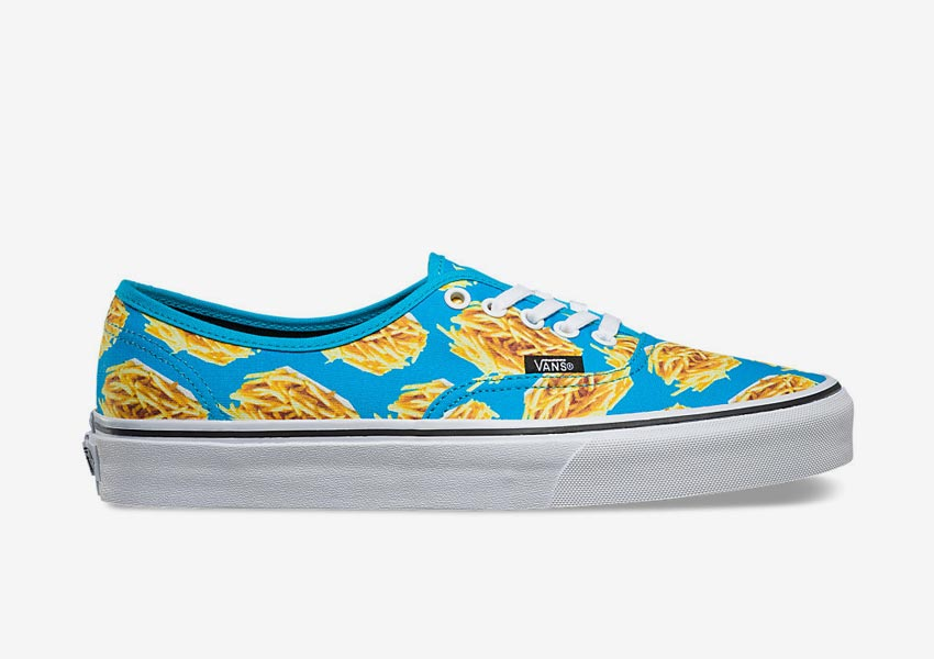 Vans Late Night Pack — tenisky Authentic — Blue Atoll/Fries — modré