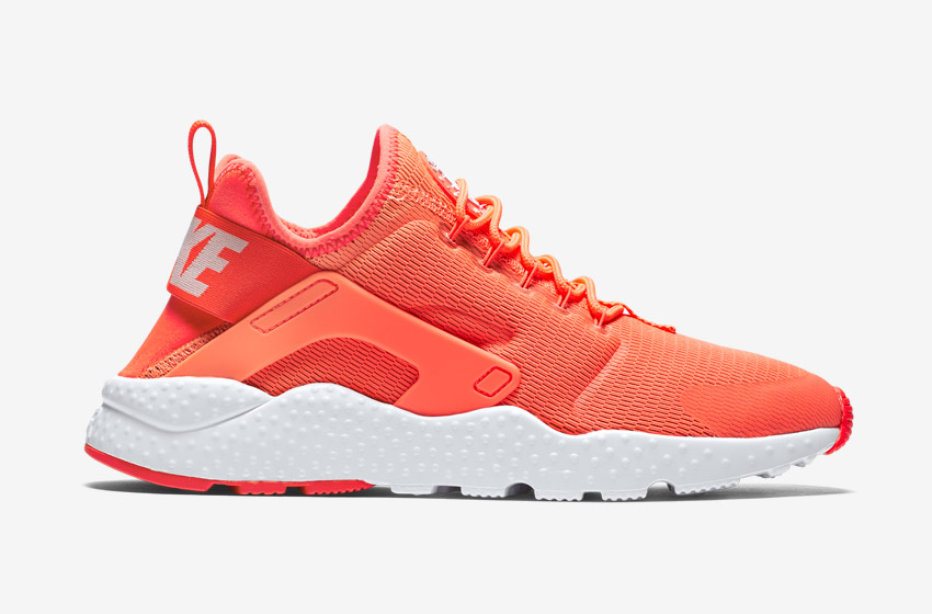 Nike Air Huarache Ultra — dámské boty, sneakers, běžecké — oranžové