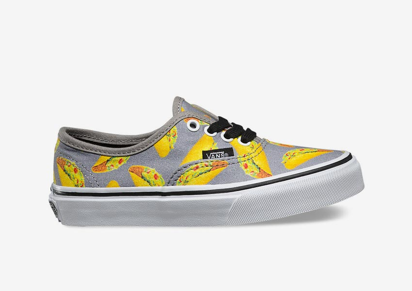 Vans Late Night Pack — dětské boty Kids Authentic — Frost Grey/Tacos — šedé