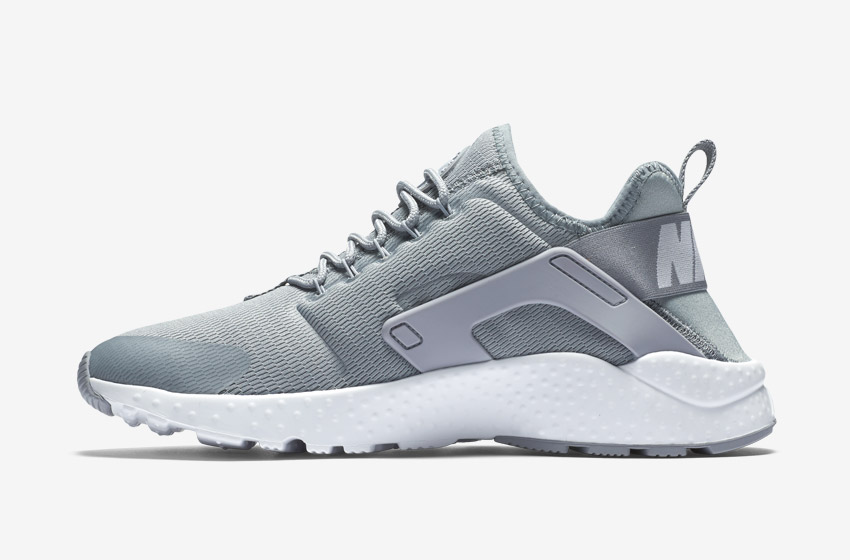 Nike Air Huarache Ultra — dámské tenisky, běžecké boty, sneakers — šedé