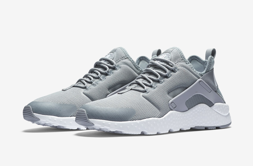 Nike Air Huarache Ultra — šedé dámské boty, běžecké sneakers, tenisky