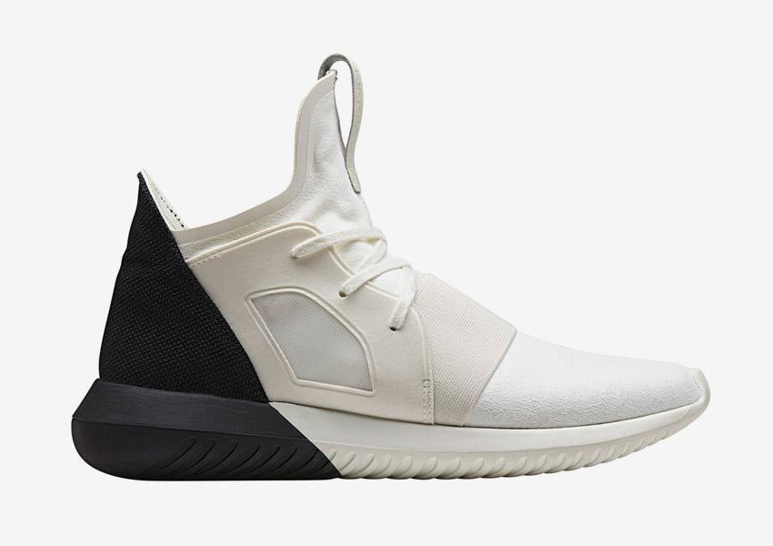 adidas Originals Tubular Defiant — futuristické boty, tenisky, sneakers — bílé, černé — dámské — Color Contrast Pack