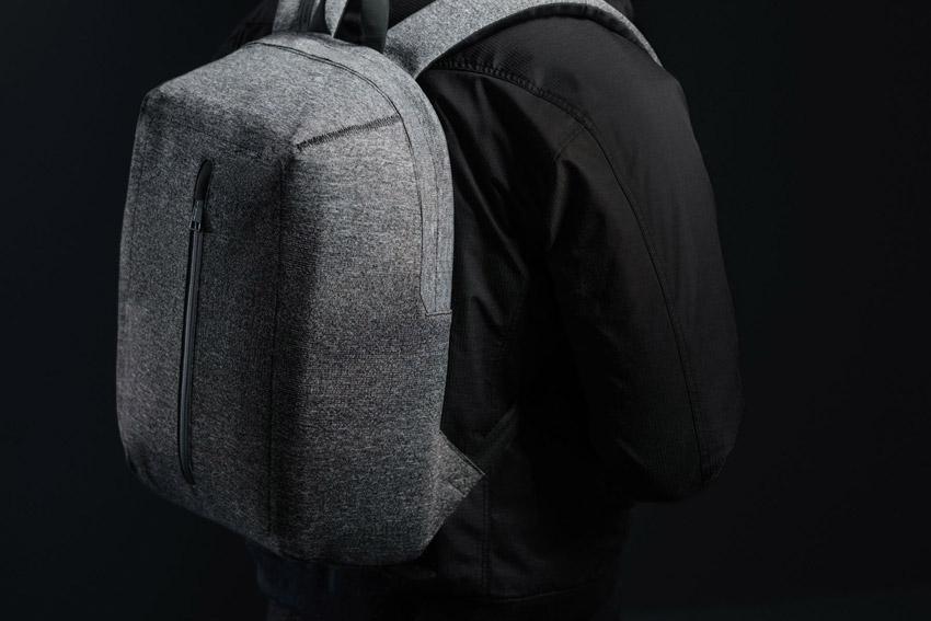 Herschel Supply — tkaný batoh na záda — Dayton — šedý melír — ApexKnit