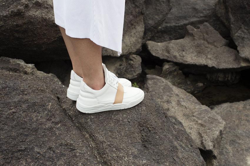 Filling Pieces — bílé tenisky, luxusní sneakers, kožené kotníkové boty — dámské, pánské — lookbook — Metamorphosis — jaro/léto 2016