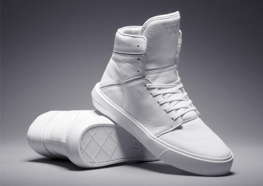 Supra Camino — kotníkové boty — bílé — vysoké sneakers ddf5ef8951