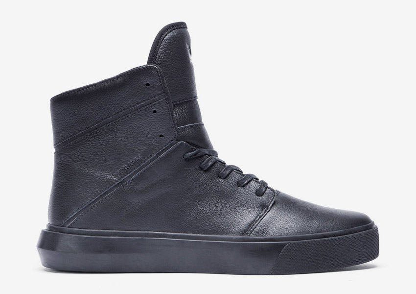 Supra Camino — kotníkové boty — černé — vysoké sneakers, kožené tenisky — dámské, pánské — High Tops