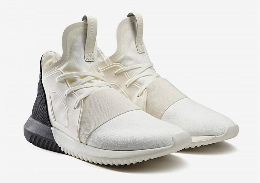 adidas Originals Tubular Defiant — boty, futuristické sneakers — bílé, černé — dámské — Color Contrast Pack