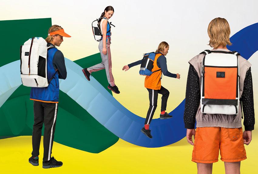 Pinqponq — stylove recyklované plátěné batohy na záda — lookbook 2016
