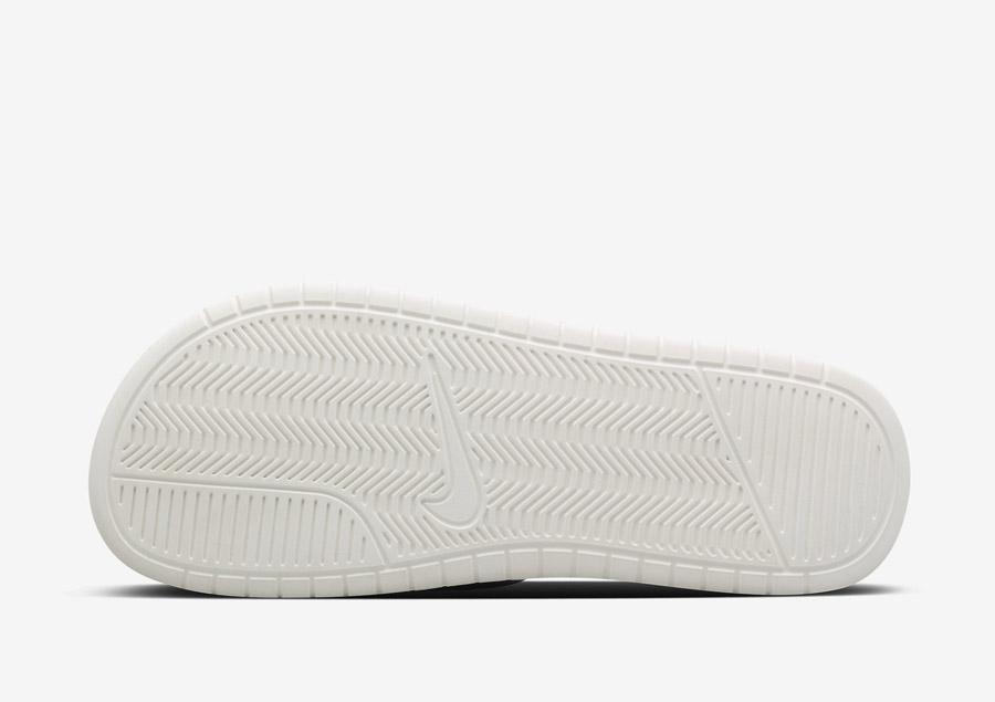 NikeLab Benassi Lux — detail podrážky
