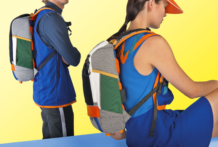 Pinqponq — barevné plátěné batohy — recyklované z PET lahví — lookbook 2016