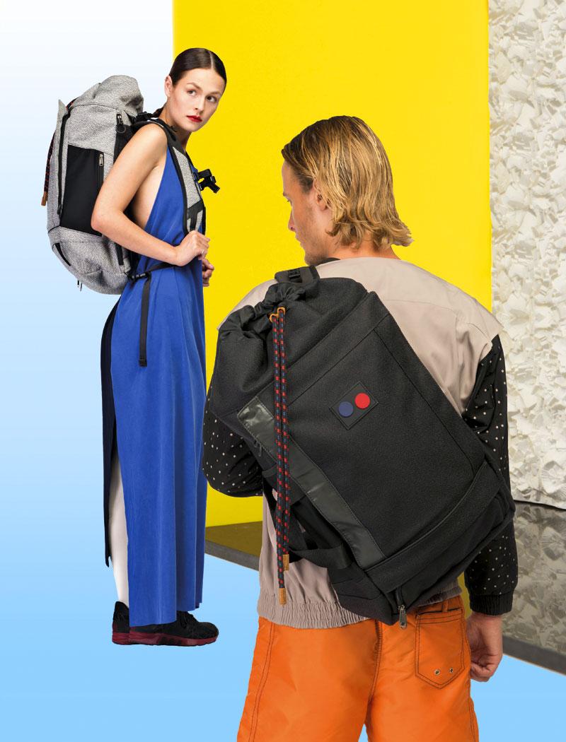 Pinqponq — prostorné plátěné batohy z PET flašek — lookbook 2016