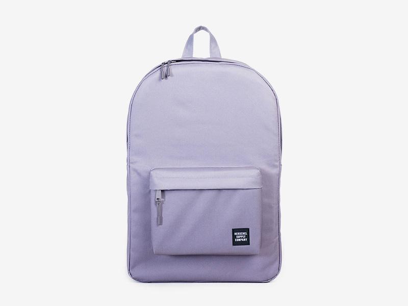 Herschel Supply — plátěný batoh na záda — fialový — Classic Backpack — kolekce Gradient