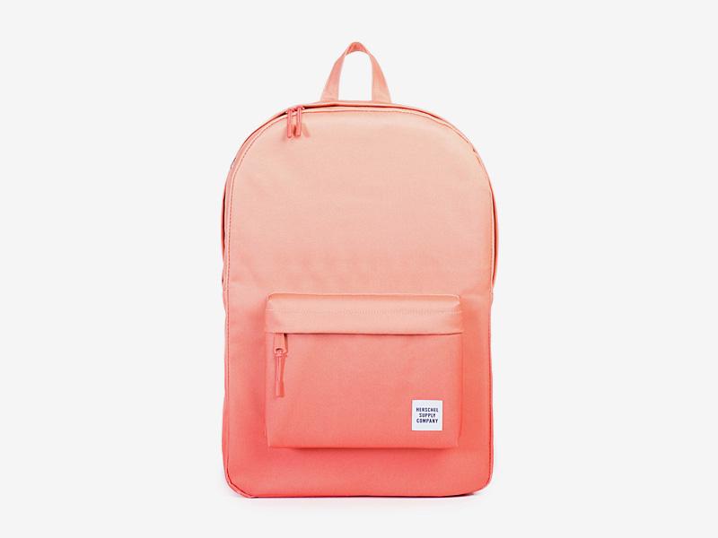 Herschel Supply — batoh na záda, plátěný — oranžový — Classic Backpack — kolekce Gradient