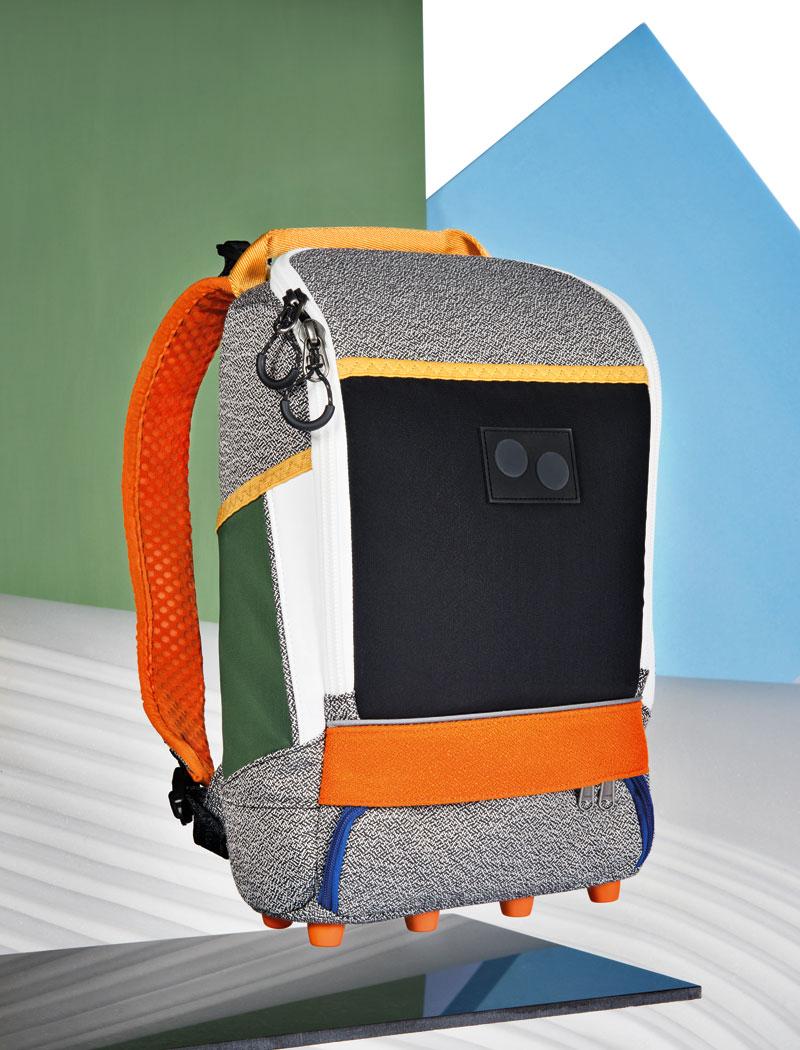 Pinqponq — barevný plátěný batoh na záda — lookbook 2016