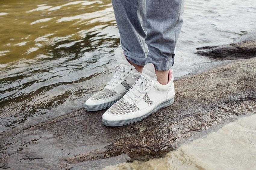 Filling Pieces — šedé tenisky, boty, sneakers — pánské, dámské — lookbook — Metamorphosis — jaro/léto 2016
