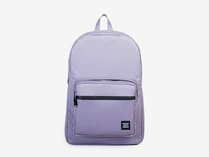 Herschel Supply — batoh na záda, plátěný — fialový — Pop Quiz Backpack — kolekce Gradient