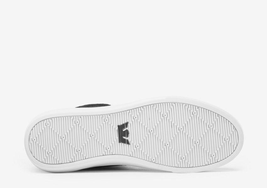 Supra Camino — kotníkové boty — černé — detail podrážky