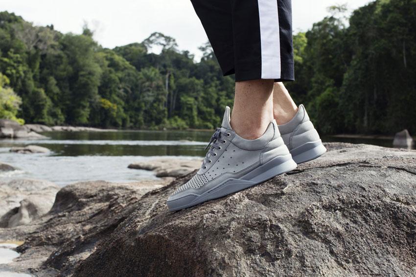 Filling Pieces — šedé boty, luxusní kožené tenisky, sneakers — pánské, dámské — lookbook — Metamorphosis — jaro/léto 2016