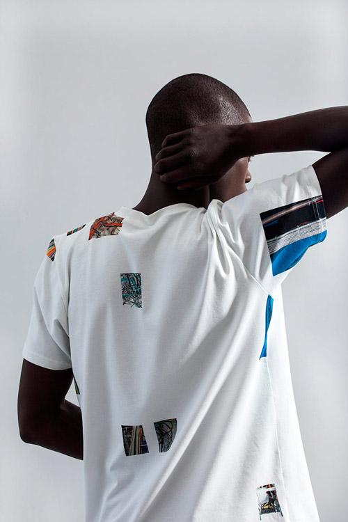 Ucon Acrobatics — pánské tričko s potiskem — bílé — lookbook — jaro/léto — spring/summer 2016
