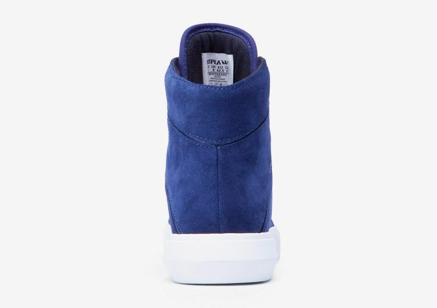 Supra Camino — kotníkové boty — modré — zadní pohled