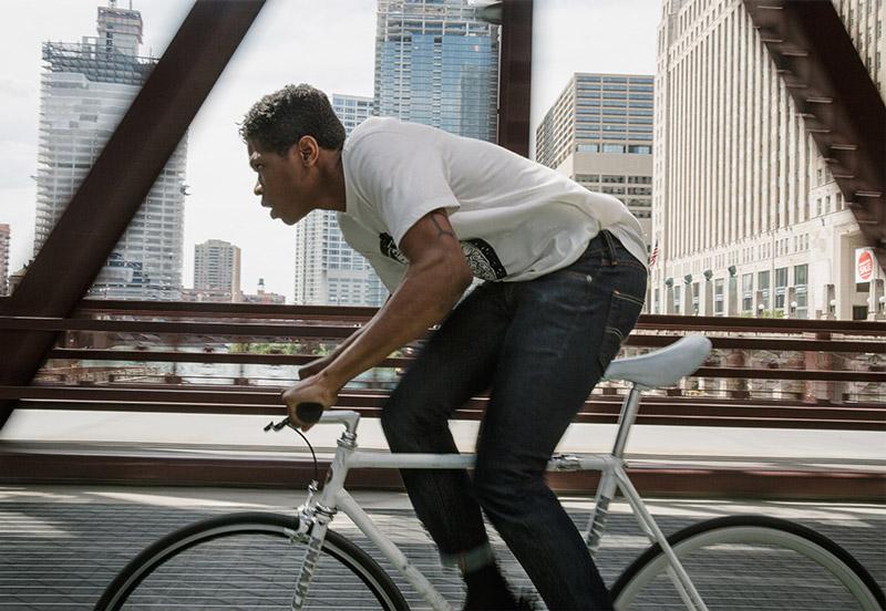 Levi's Commuter — oblečení pro cyklisty — jaro/léto 2016