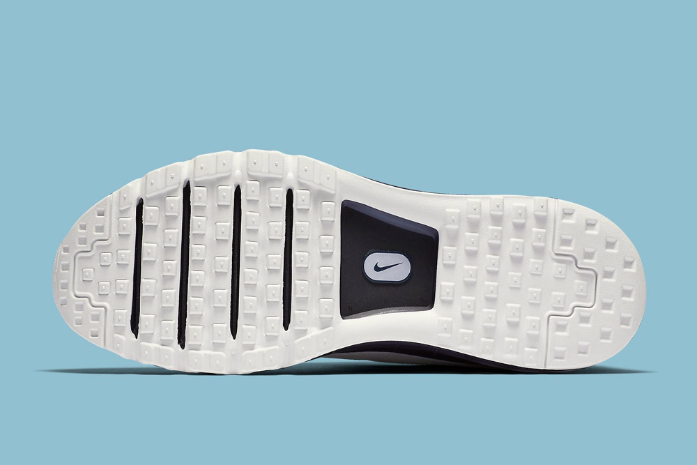 Nike Air Max LD-Zero H — bílá podrážka — detail — Hiroshi Fujiwara