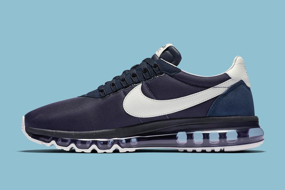 Nike Air Max LD-Zero H — Obsidian/White — boty, fialové tenisky, sneakers — Airmaxy — pánské, dámské — Hiroshi Fujiwara
