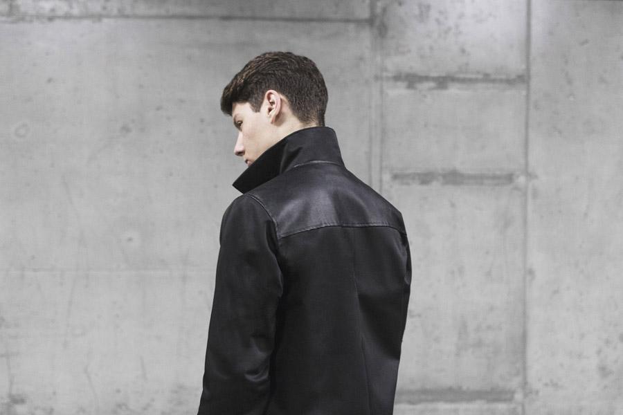 Backyard Cartel — jarní bunda se stojáčkem, pánská — černá — pánské oblečení, street móda — kolekce Scissors — 1. část