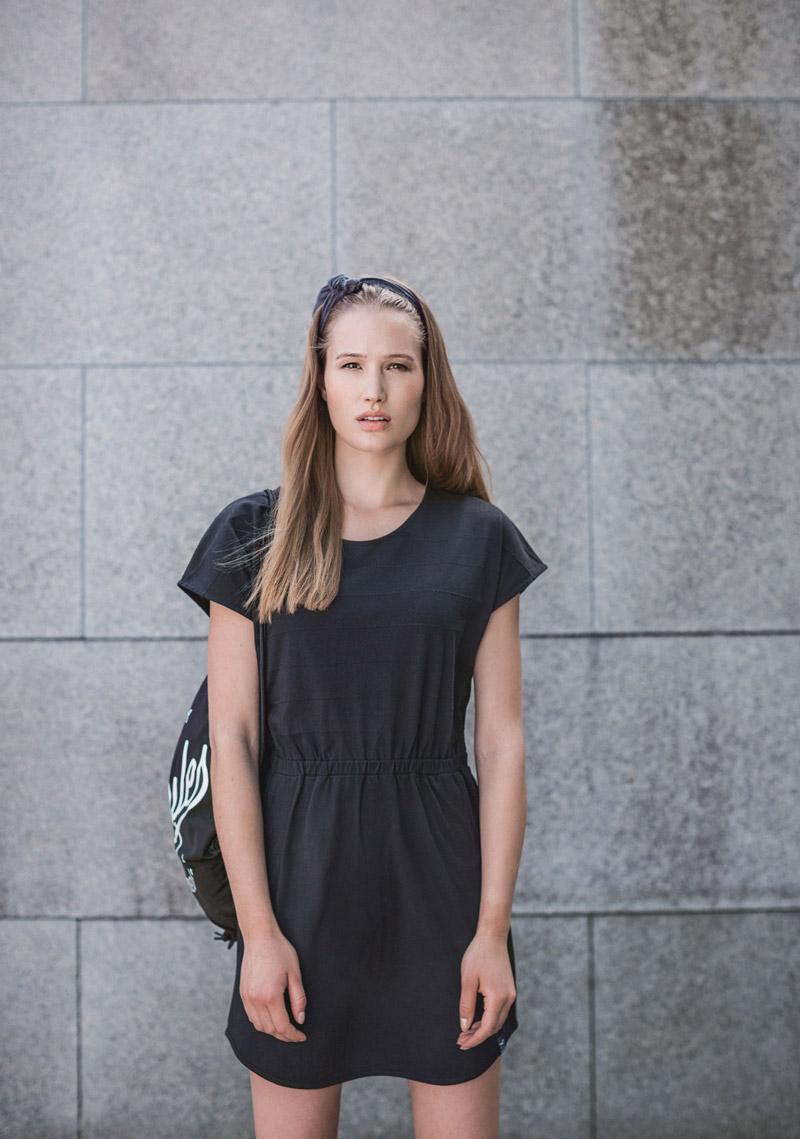 Iriedaily — dámské černé jarní/letní čaty — lookbook — jaro/léto 2016