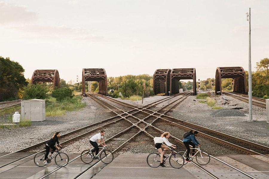 Levi's Commuter — oblečení pro cyklisty — cyklistické oblečení do města — jaro/léto 2016