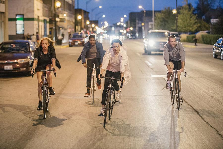 Levi's Commuter — cyklistické oblečení do města — oblečení pro cyklisty — jaro/léto 2016