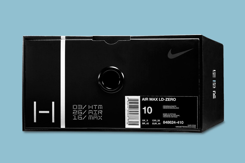 Nike Air Max LD-Zero H — krabice — Hiroshi Fujiwara