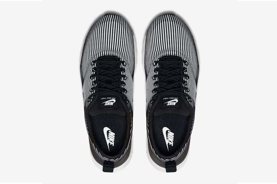 Nike Air Max Thea Jacquard — dámské boty — horní pohled — tenisky, sneakers — textilní, veganské