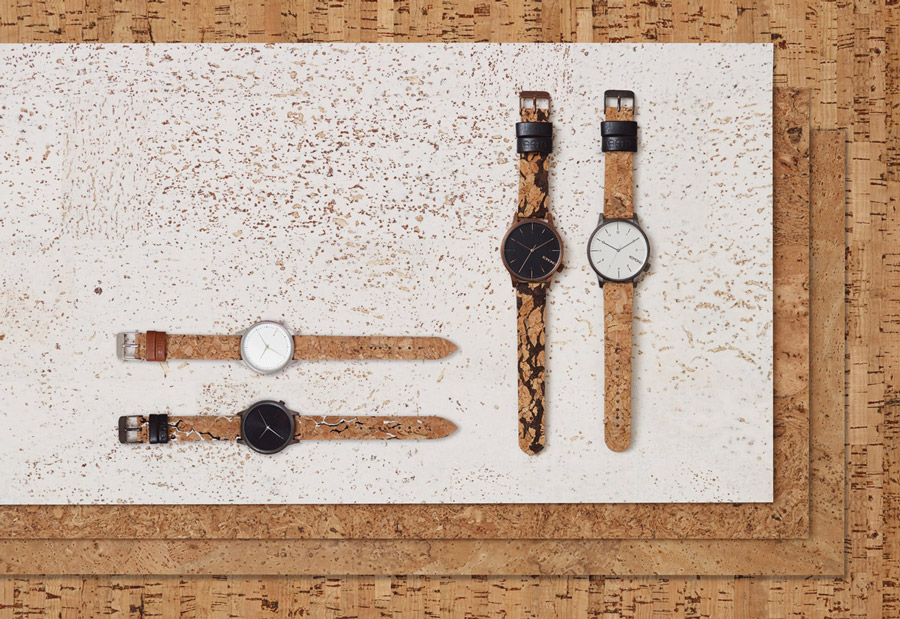 Komono — kolekce Cork — dámské, pánské hodinky s korkovým řemínkem — Komono Winston — Komono Estelle