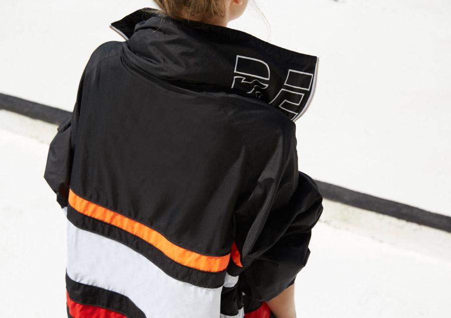 P.E Nation — dámská sportovní bunda bez kapuce — černá — dámské sportovní oblečení