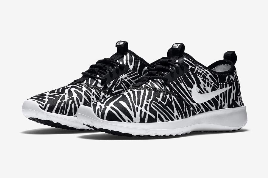 Nike Juvenate Print Wmns — dámské tenisky, boty — černo-bílé, vzorované, black/white — běžecké sneakers