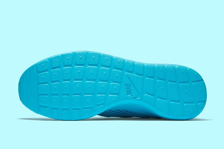 Nike Roshe One Hyper Breathe — podrážka — modrá, tyrkysová