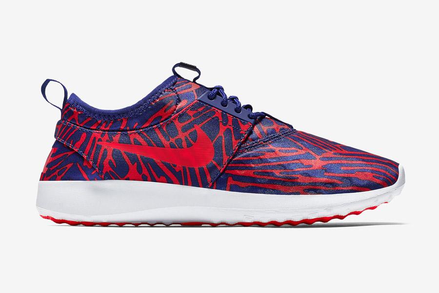 Nike Juvenate Print Wmns — dámské boty, tenisky — červené/modré, vzorované, red/blue — běžecké sneakers